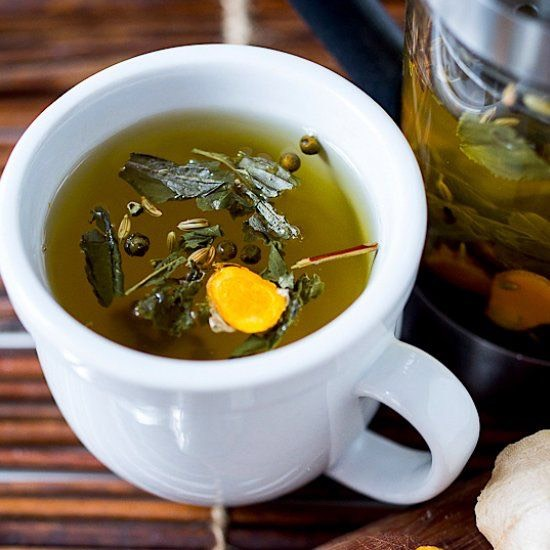 Ayurvedic Detox Tea RecipeHere