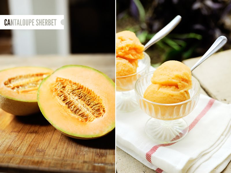 All you need is  1/2 melon cubed and frozen 1cup of plain or vanilla Greek yogurt 1cup of water and 1 tablespoon of vanilla extract or lime juice