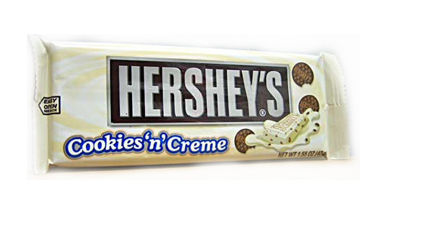 NUMBER 9:  Hershey's Cookies and Cream