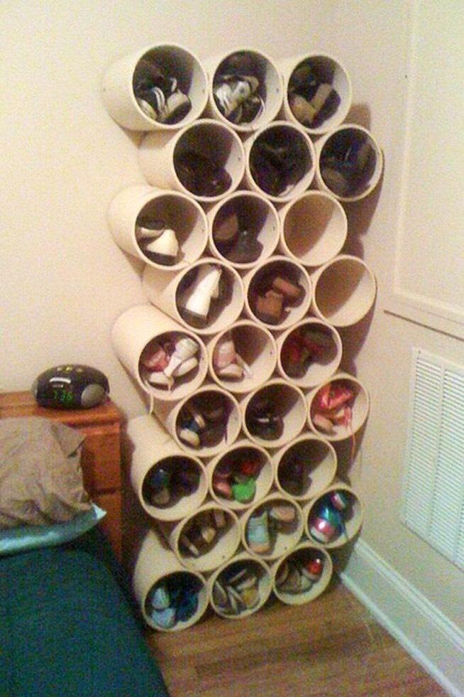 diy shoe cabinet ideas
