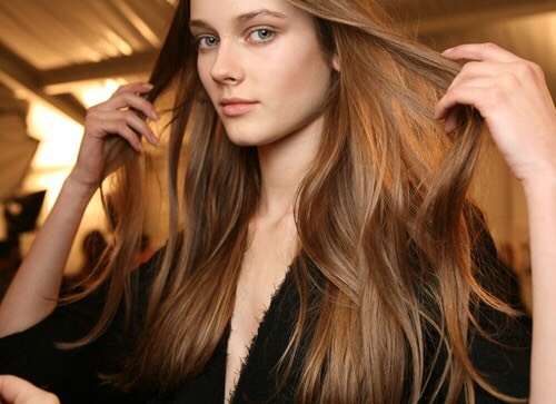 Blow drying your hair makes it look shinier and healthy