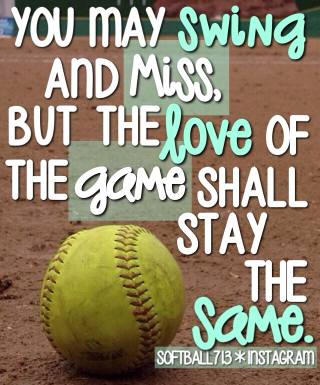 Softball Quotes by Jenna M - Musely