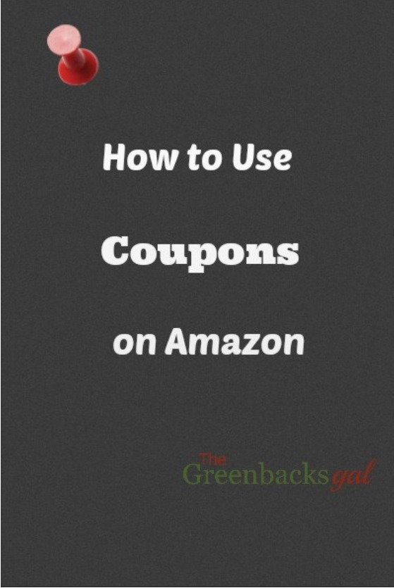Can i use coupons on amazon