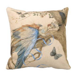 Enchanted looking pillows are also a great asset. Make sure they match your bedding or color scheme though
