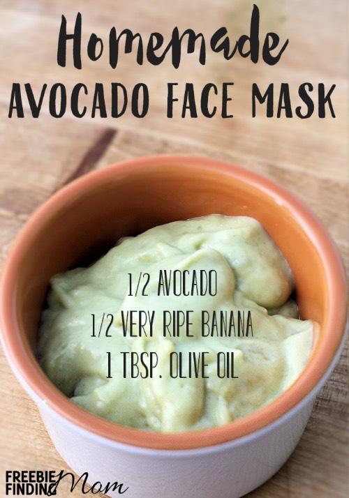 Avocado Face Mask Homemade RecipeGive Your Skin a Hearty Dose of Moisture!