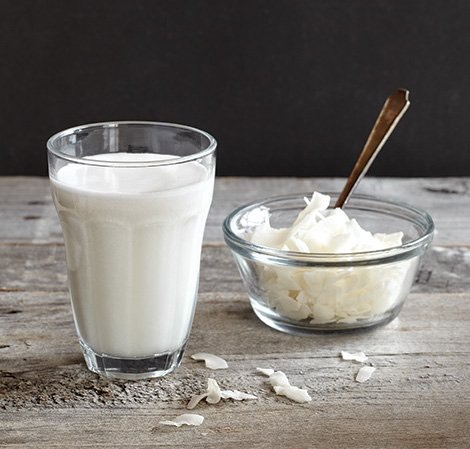 1.Start with the freshly-extracted milk of two dry coconuts.  http://mom.me/latina-mom/16000-how-to-make-coconut-milk/