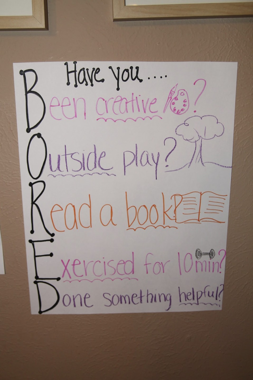 Do these! These are amazing ways to have fun when your bored!!