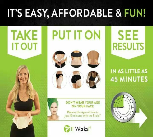 this simple to get results in 45 min. https:// marysmagicwraps.myitworks.com