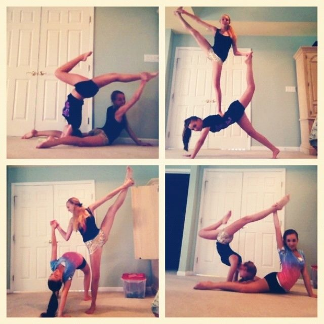 Yoga Poses You And Ur Friend S Can Do By Brielle H Musely