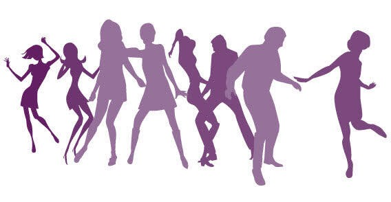 Get active go dancing moving your body can distractto you from what's on your mind