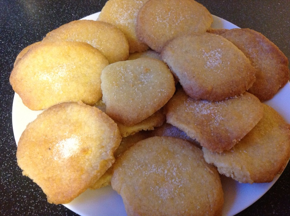 These are mine, even if they don't turn out the perfect shape, don't worry! These shortbread biscuits taste delicious and they are perfect for baking with the kids too! Please share, like and, of course enjoy!