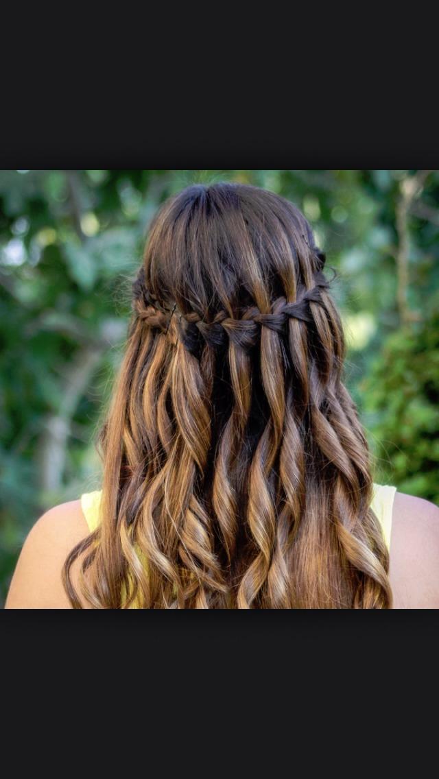 The waterfall braid.