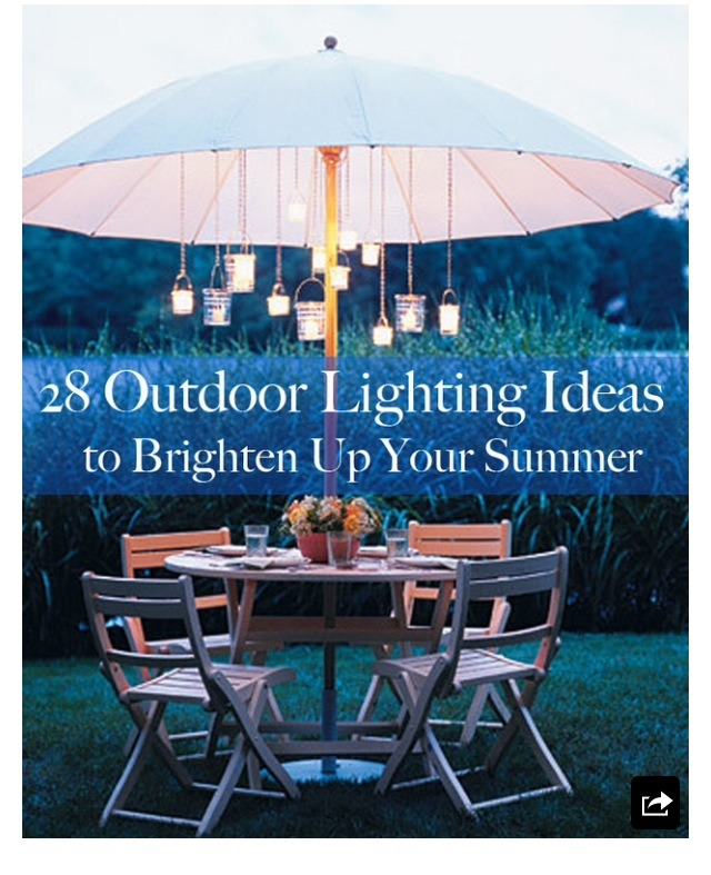 28 Outdoor Lighting Diys To Brighten Up Your Summer: Musely