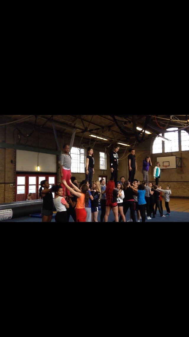 Pyramids or Stunts whatever you want to call them, this is simple level 2 cheer stunts/pyramids and we are in preps.