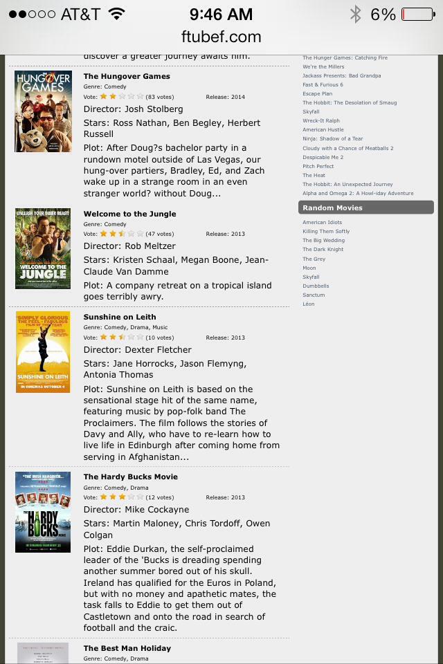 computer based movies