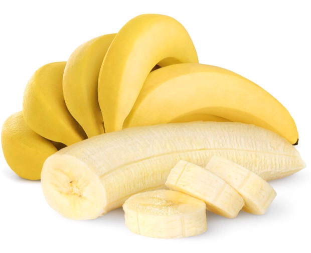 BANANAS  Bananas contain vitamin B6 and are rich in serotonin which is an essential chemical in our happiness makeup.