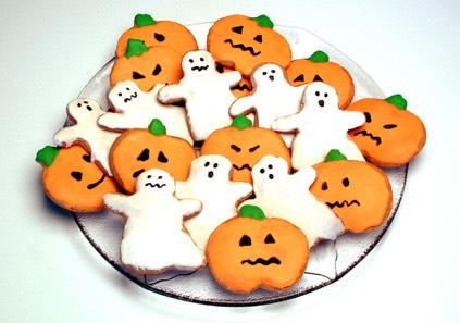 Simple Halloween cookie ideas! 🎃