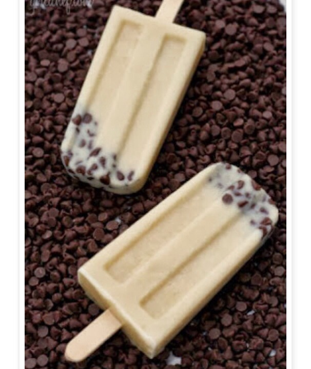 INGREDIENTS:  2 1/2 cups of milk  2/3 cup of light brown sugar, packed.  A couple pinches of salt.  2 tsp. pure vanilla extract  1/4 cup + 1 tsp mini chocolate chips.