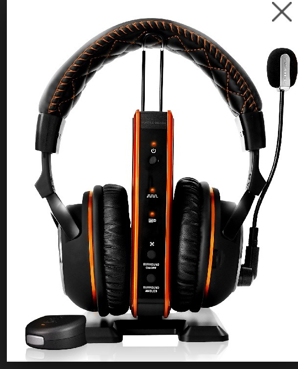 Turtle beaches is a more advanced headset allowing the player to actually hear where a person is by there footsteps.