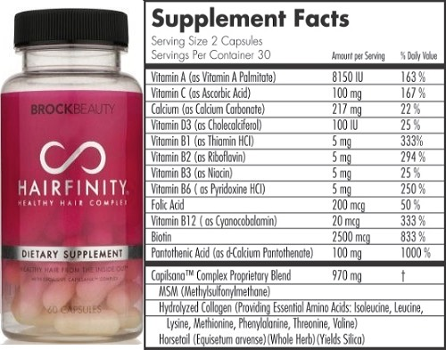 It helps that hairfinity was made by a woman struggling with hair growth. So if you want quick fast healthy growing hair this is the product for you.