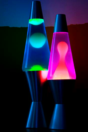 Cool lava lamps...