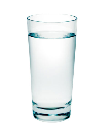 drink all of it before eating your meal
