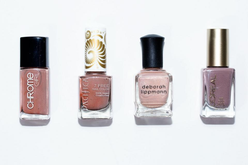 15. Nude Polish. Barely there polish is perfect for when you want to wear a shade but don't want it to be noticeable. Nude polishes are perfect for interviews and also create the illusion of longer fingers.