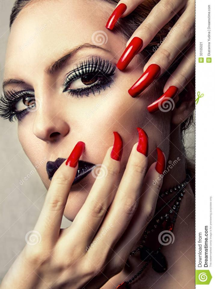 Girls love to have long nails, they feel more feminine. While guys may love that long natural nails are great for back scratching and opening up tiny things, they make some feel like they are dating Cruella De Ville.