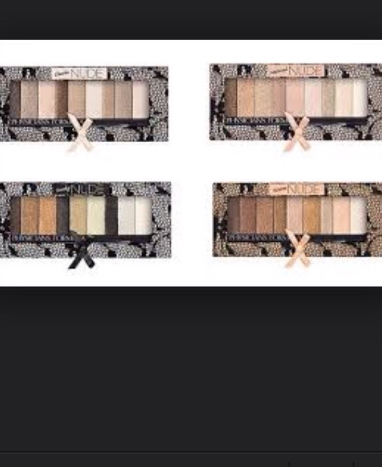 Lastly I apply Physicians Formula Nude Eyeshadow collection .  It gives you a variety of beautiful colors .