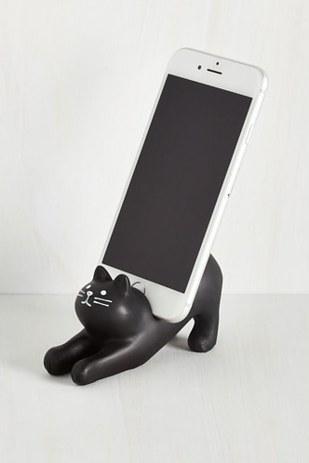 23. This kitten iPhone holder ($15).