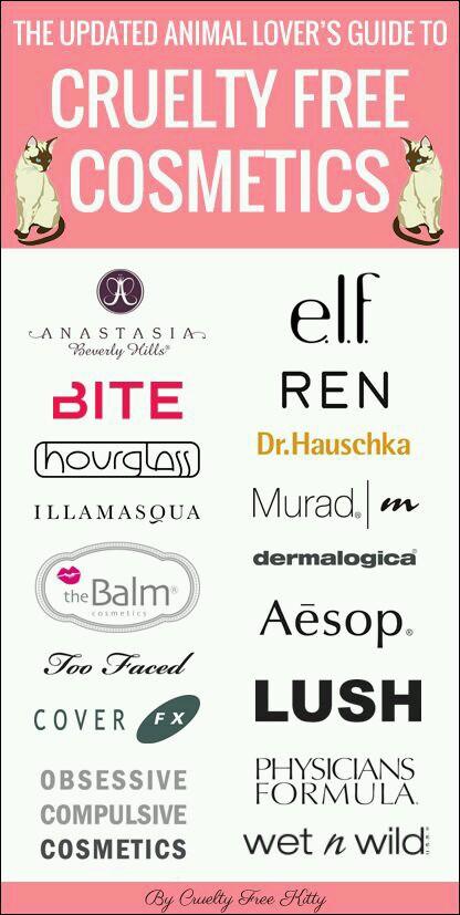 Drugstore Cruetly Free Makeup Products.