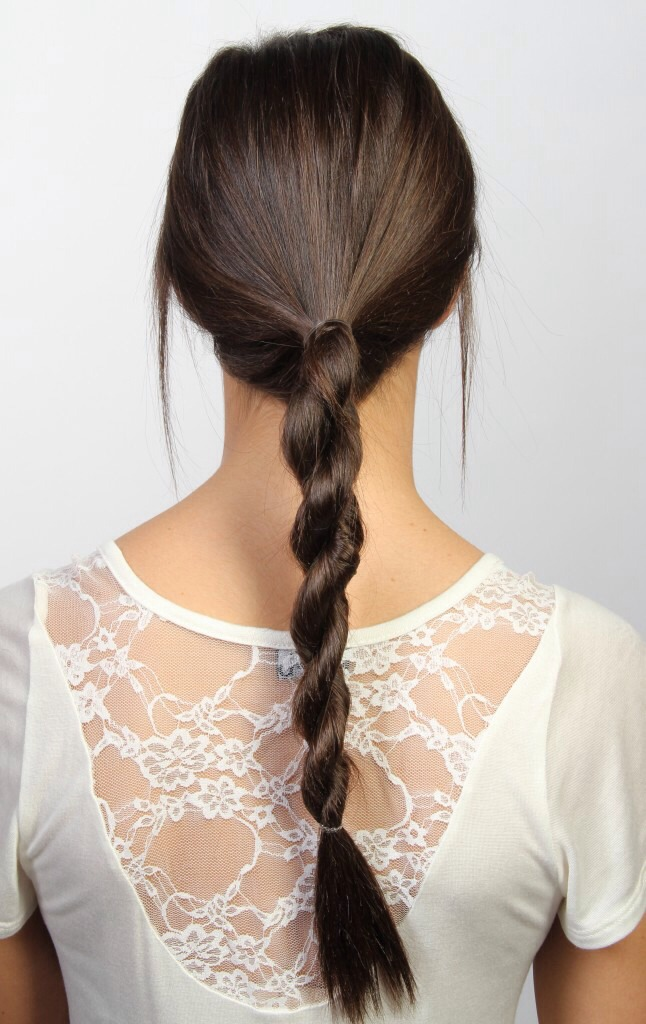 Hair: if you want beach waves the next morning, dampen your hair and braid it.