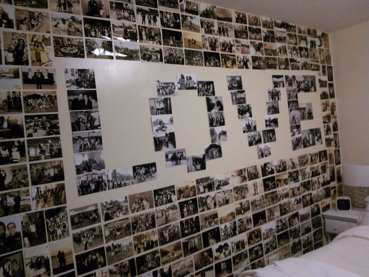 Make a picture wall.