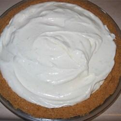 """""""Very easy, very good, light Key lime taste that still makes you pucker. Took me a while to perfect this one. No baking, no fuss - takes me 10 or 15 minutes to make."""