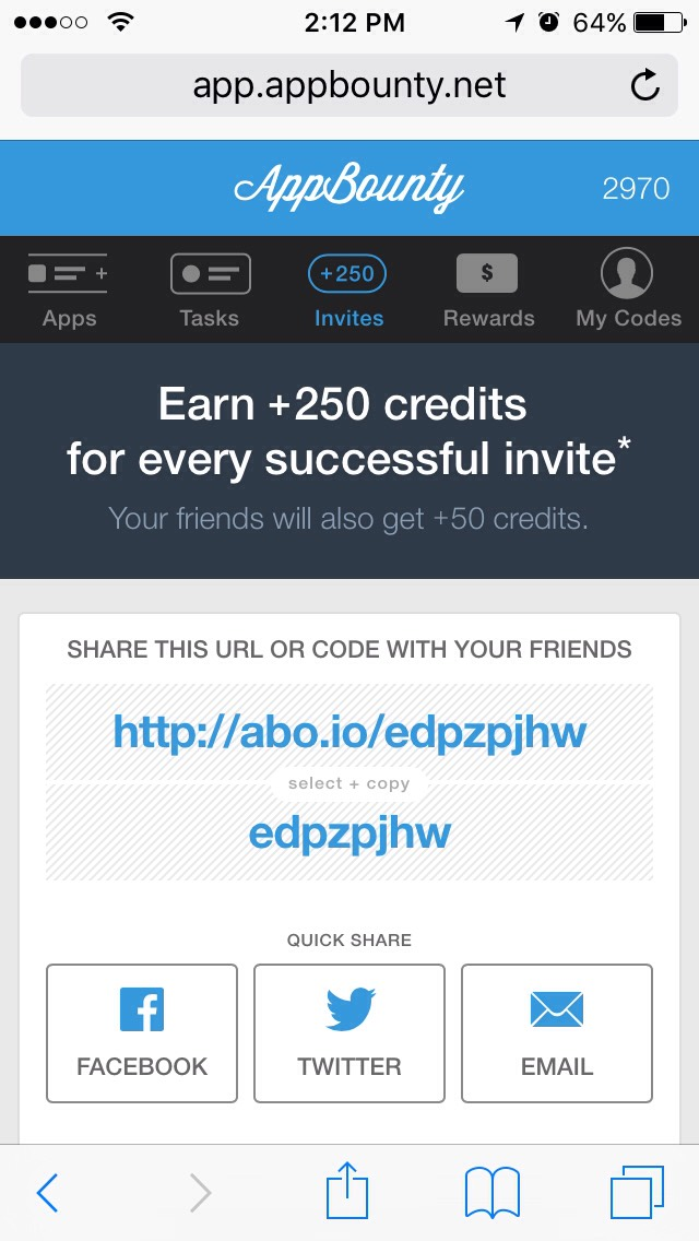 For a head start will give you +50 points type in the code It will pop out in your screen when you try it  Code:edpzpjhw