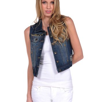 Jean vest from dollhouse
