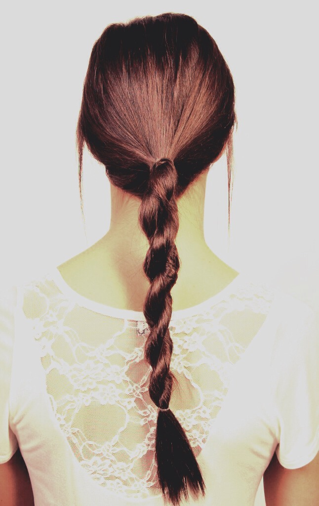 Wear braids often, it prevents split ends and helps your hair grow.