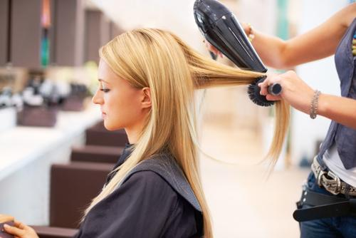 5. Use a low-heat setting for hairdrying and point the nozzle down, not side-on