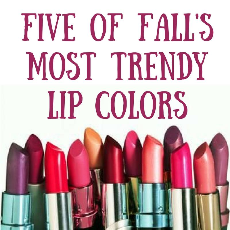 This fall is all about bold lips! If you're going to wear lipstick this season, make it one of these shades.