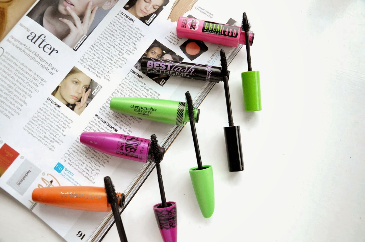Discover cheap mascaras that you can buy in drugstore and that works well!!!