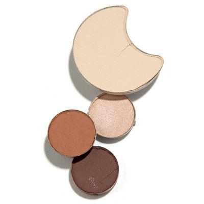 """Brighten up  Blend a matte skin-toned shadow over your lids, then """"dust a shimmer version of the shade just beneath brows,"""" Pottinger says. A good option: Neutrogena Nourishing Eye Quad in Tea Biscuit ($9.99)."""