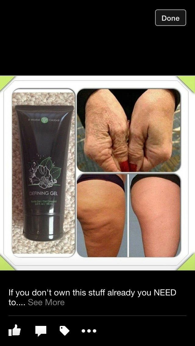 This is the defining gel! It's basicy liquid gold! It works miracles!  Find out more 👉🏽👉🏽👉🏽