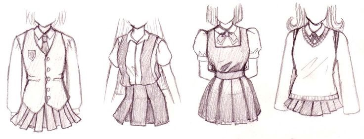 Here are some clothing ideas.