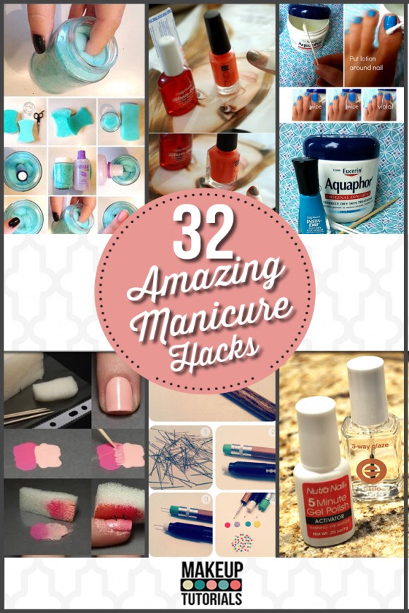 It's not actually 32 manicure hacks! But enjoy!🔜