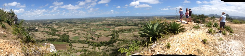 We went in the jeep safari up on to a very high mountain and the view was incredible.