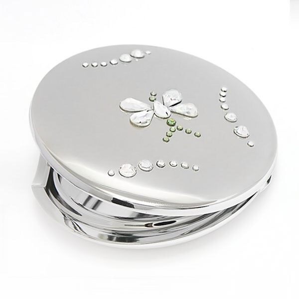 Any pocket mirror- who doesn't like the feel of checking your makeup because you feel like you need to retouch it, but you don't have a mirror with you? Of course you can use your phone camara, but sometimes you can't see some details.