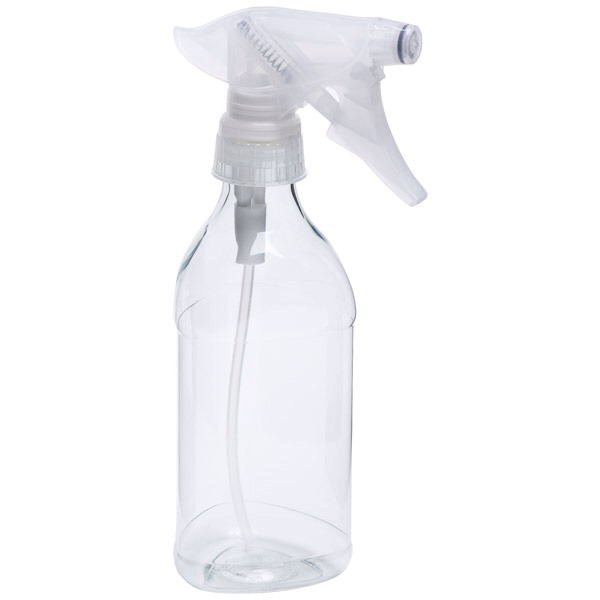 So mix one part Dawn dish soap and one part vinegar, spray and  leave it for an hour, then wipe. It really work, no scrubbing or scouring involved.