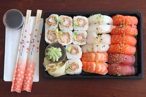 5. Go to a sushi bar