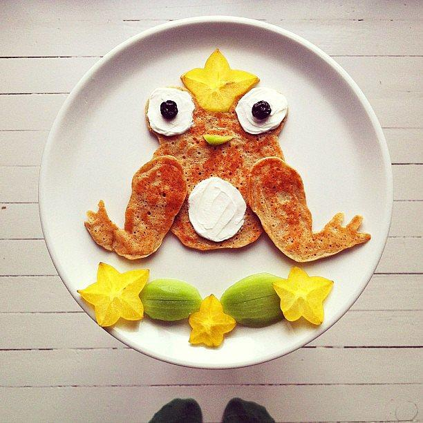 Frog Legs? He just may be a Prince Charming in disguise. This little froggy comes complete with a fruity crown!