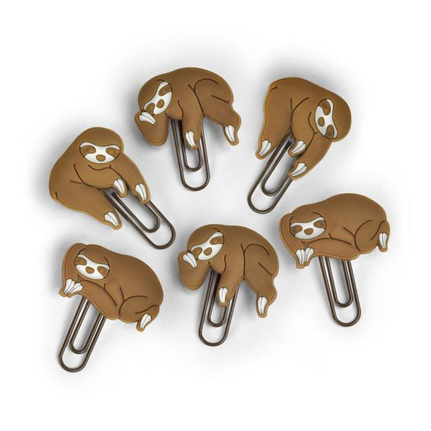 14. These sleepy sloth clips ($12).